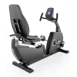 Cyclette Ciclocamere KETTLER Giro R Black Edition Recumbent