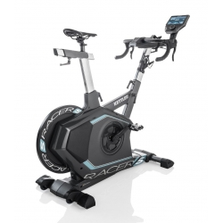 Gym bike KETTLER Racer S 2018 con fascia cardio e World Tours 2.0