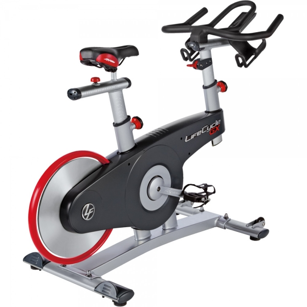 Life Fitness  Lifecycle GX con console  Gym bike