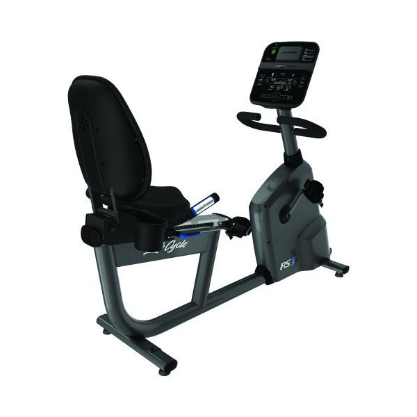 Life Fitness  RS3 Track Connect  Cyclette Ciclocamera