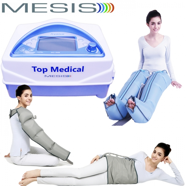 Mesis  Top Medical Premium con 2 Gambali CPS 1 Bracciale CPS e Kit Slim Body   Pressoterapia