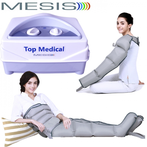 Mesis  Top Medical con 2 gambali, 1 Bracciale e Kit Slim Body  Pressoterapia