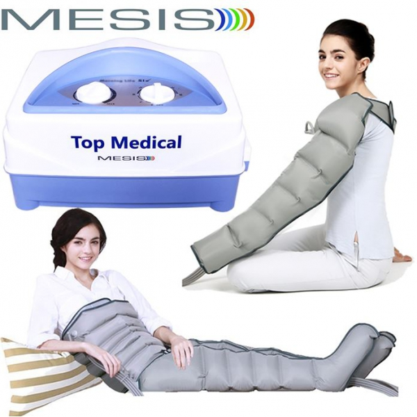 Mesis  Top Medical Six con 2 Gambali Kit Slim Body e Bracciale  Pressoterapia