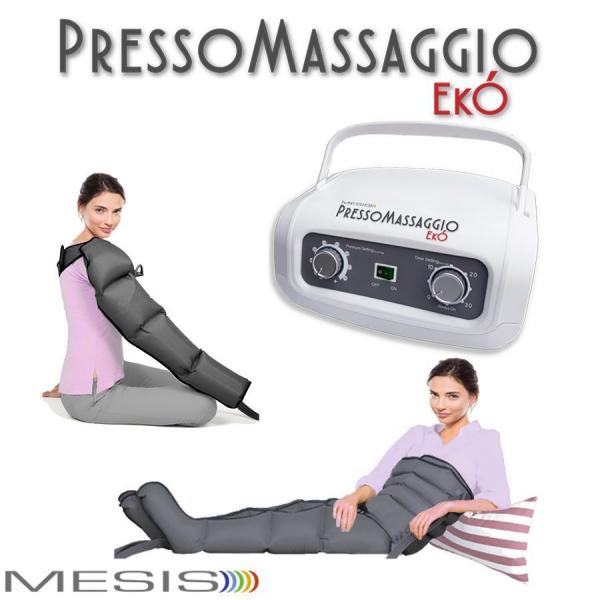 Mesis  PressoMassaggio Ekò con 2 gambali e Kit slim body e bracciale  Pressoterapia