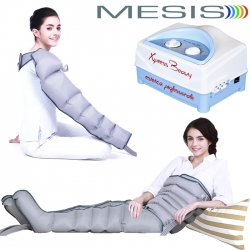 Pressoterapia MESIS Xpress Beauty Six professionale con 2 gambali + Kit Slim Body Six + Bracciale