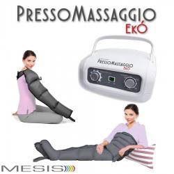 PressoterapiaMESISPressoMassaggio Ekò con 2 gambali e Kit slim body e bracciale