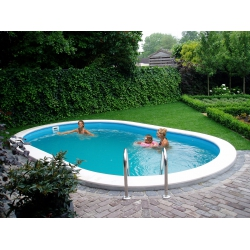 Piscine fuori terra New Plast Toscana 700 - interrabile