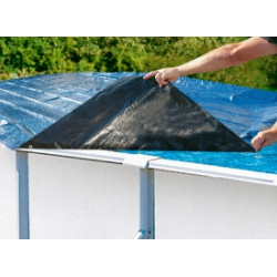 Accessori Piscine New Plast Copertura in propilene per Antigua e Caribe 500