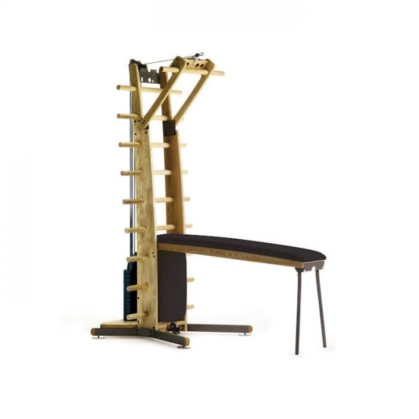 NOHRD  Weight Workx Frassino pelle nera  Macchine multistazione