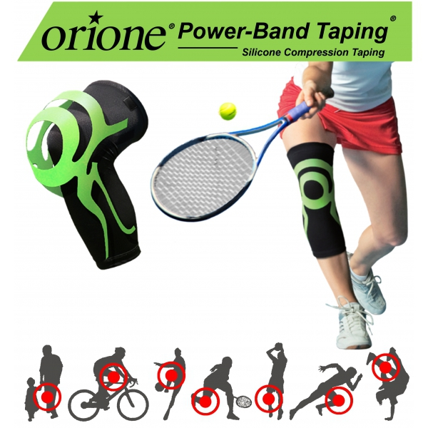 Orione Ginocchiera Con Power Band Taping Integrato Art. 488