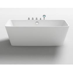 Vasche da bagnoP.R.Vasca da Bagno freestanding rettangolare in acrilico cod. 005A