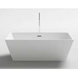 Vasche da bagnoP.R.Vasca da Bagno freestanding rettangolare in acrilico cod. 004A