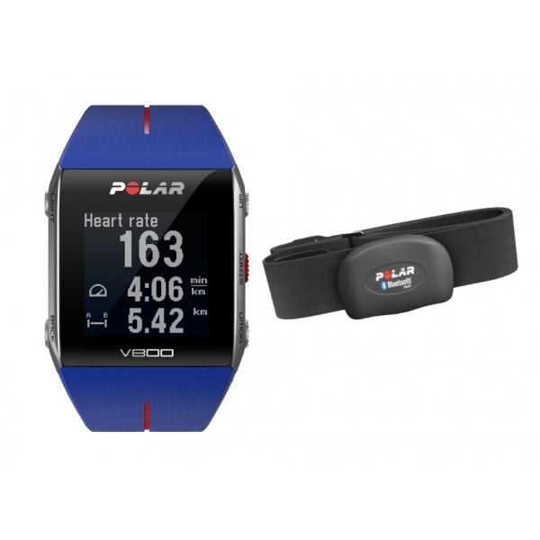 POLAR  V800 Blu con GPS e sensore HR   Cardiofrequenzimetro