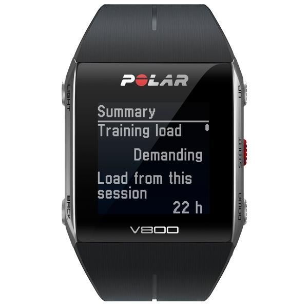 POLAR  V800 Nero con GPS  Cardiofrequenzimetro