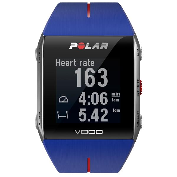 POLAR  V800 Blu con GPS  Cardiofrequenzimetro