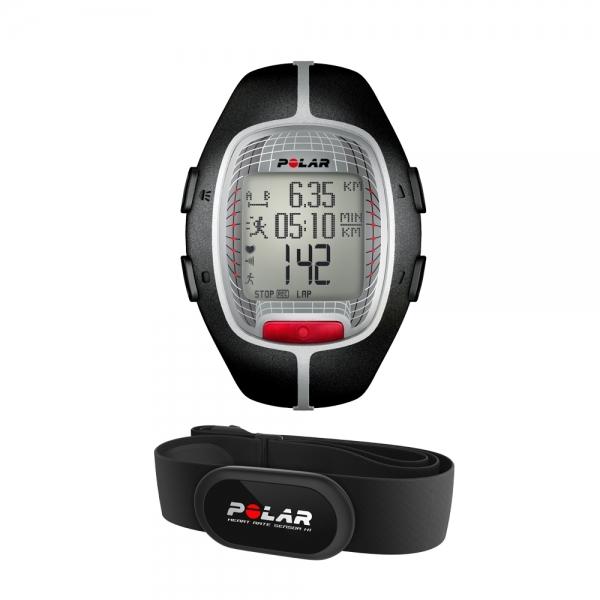 POLAR  RS300X black con fascia cardio   Cardiofrequenzimetro