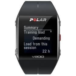 CardiofrequenzimetriPOLARV800 Nero con GPS