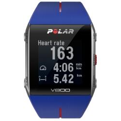 CardiofrequenzimetriPOLARV800 Blu con GPS