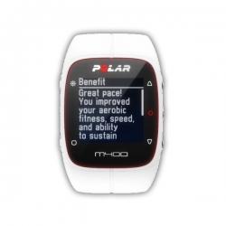 CardiofrequenzimetriPOLARM400 HR White con fascia cardio