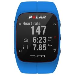 CardiofrequenzimetriPOLARM400 HR Blue con Fascia cardio