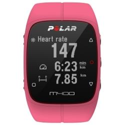 CardiofrequenzimetriPOLARM400 HR Pink con Fascia cardio