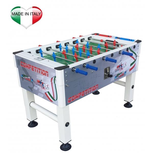 Calciobalilla Roberto Sport Competition Con Gettoniera - Biliardino