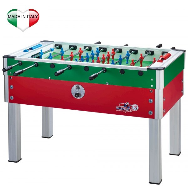 ROBERTO SPORT  New Camp Italy Rosso-Azzurro/Rosso-Verde/Azzurro/Rosso  Calcio balilla da interno