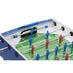 Bomber blu dettaglio campo di gioco
