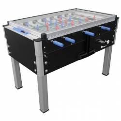 Calcio balilla da interno ROBERTO SPORT Export Led Nero/Blu/Chocolate