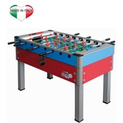 Calcio balilla da internoROBERTO SPORTNew Camp Super rosso-azzurro/rosso-verde/azzurro/rosso
