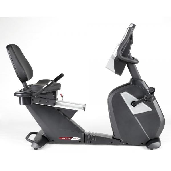 SOLE  R92 Recumbent con fascia cardio  Cyclette Ciclocamera