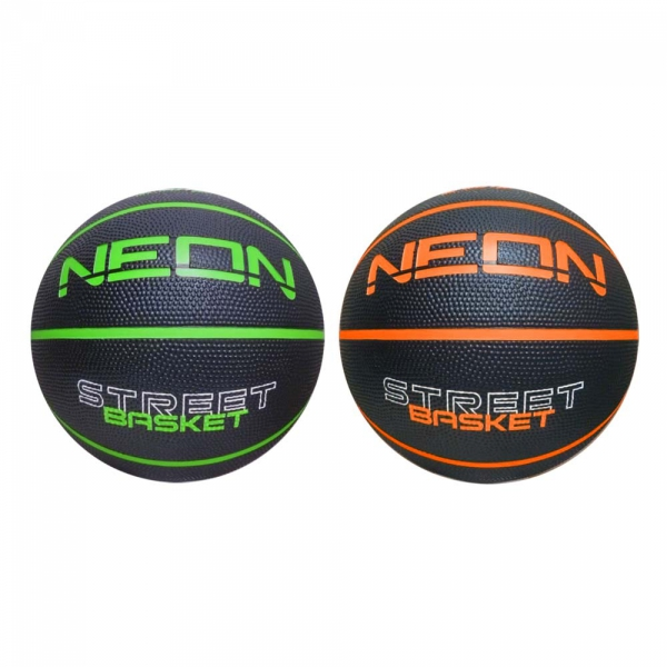 Pallone Basket Sport1 Neon