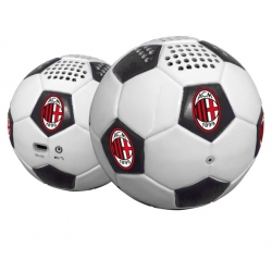 Accessori audio TECHMADE Cassa audio bluetooth Football Speaker Ac Milan