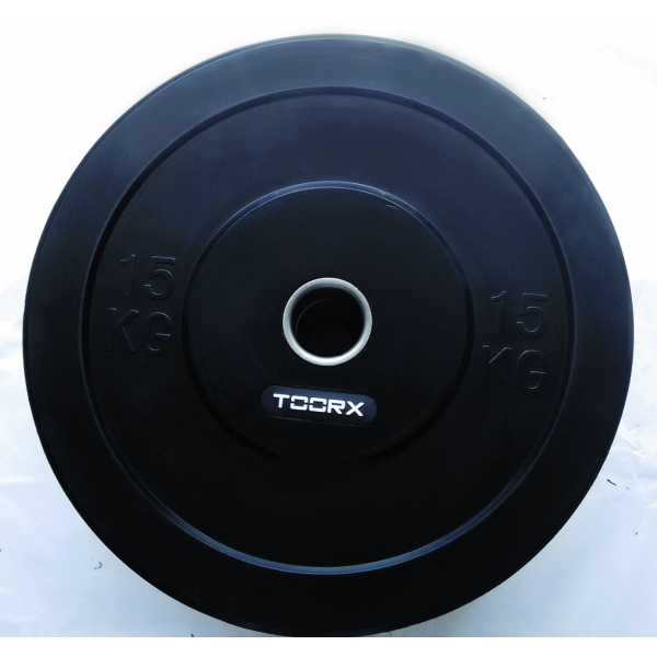 TOORX  Disco Bumper Training Absolute 15 Kg    Pesi e Manubri