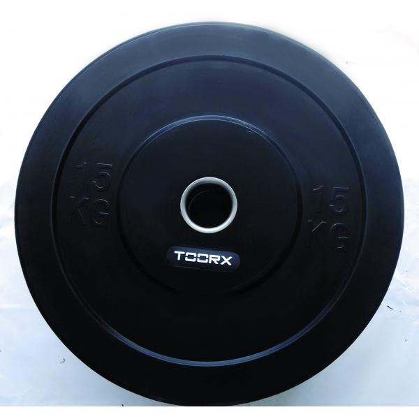 TOORX  Disco Bumper Training 25 Kg    Pesi e Manubri