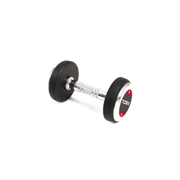 TOORX  Manubrio Professionale Gommato 32 kg  Pesi e Manubri
