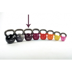 Functional Training TOORX Kettlebell 16 Kg. in vinile bodeaux