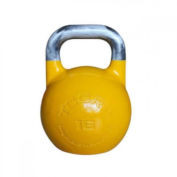 TOORX  kettlebell olimpionico acciaio 16 Kg  Functional Training
