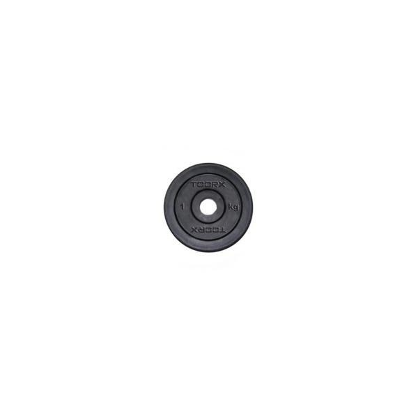 TOORX  Disco ghisa gommato 10 Kg  Accessori pesistica
