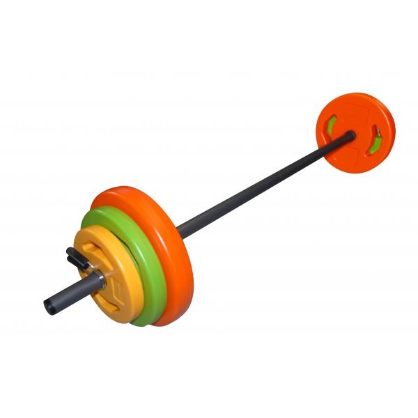 TUNTURI  Aerobic Pump Set 20 kg  pesistica