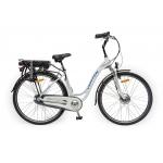 E-bike Meridiana da donna, bianca