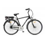 E-bike Meridiana uomo, nero