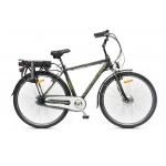 E-bike Meridiana uomo, titanio