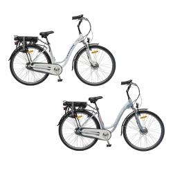 Biciclette ElettricheVERTEKMERIDIANA DONNA city, ruote 28 modello 2017